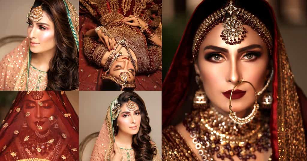 Ayeza Khan Bridal Photoshoot