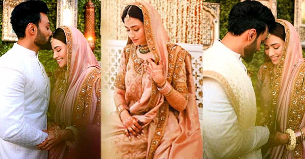 Sana Javed Wedding Pics