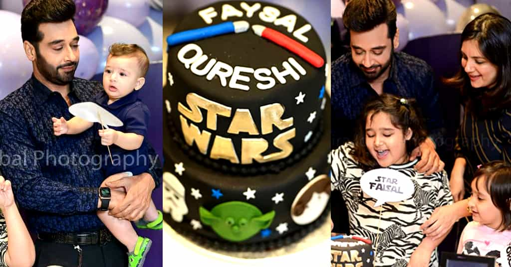 Faisal Qureshi Birthday Pictures