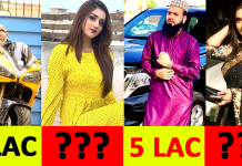 Richest TikTok Stars in Pakistan