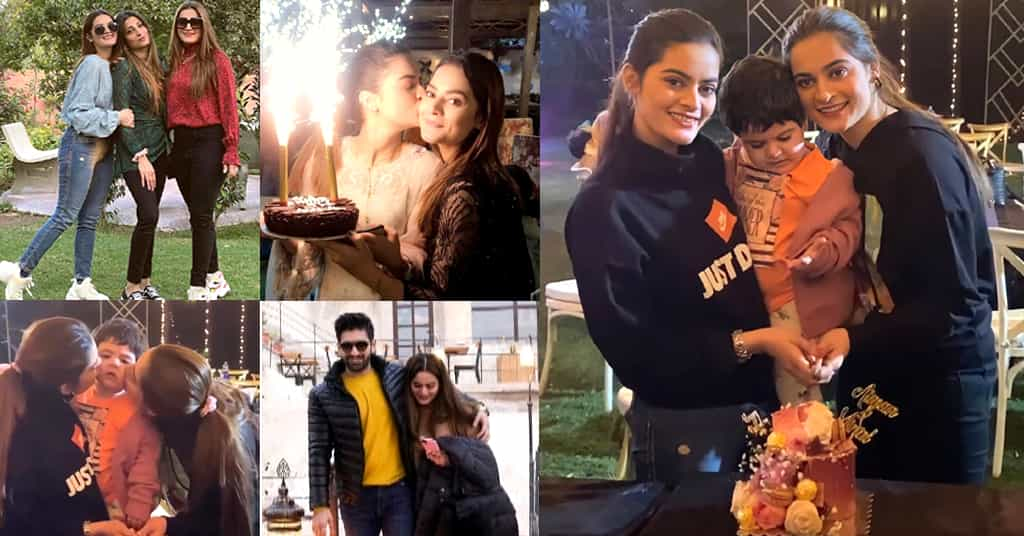Aiman Khan Birthday Pictures