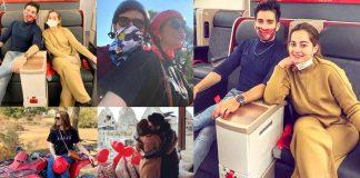 Aiman Khan Turkey Vacation