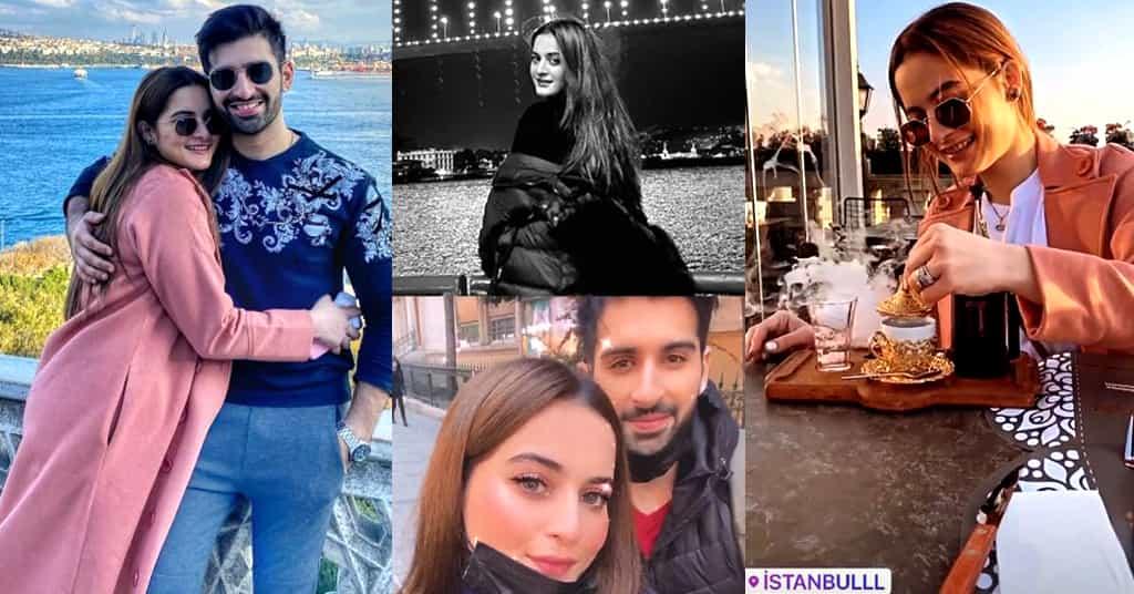 Aiman KHan Turkey Vacations