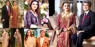 Kashmala Tariq Wedding Pictures