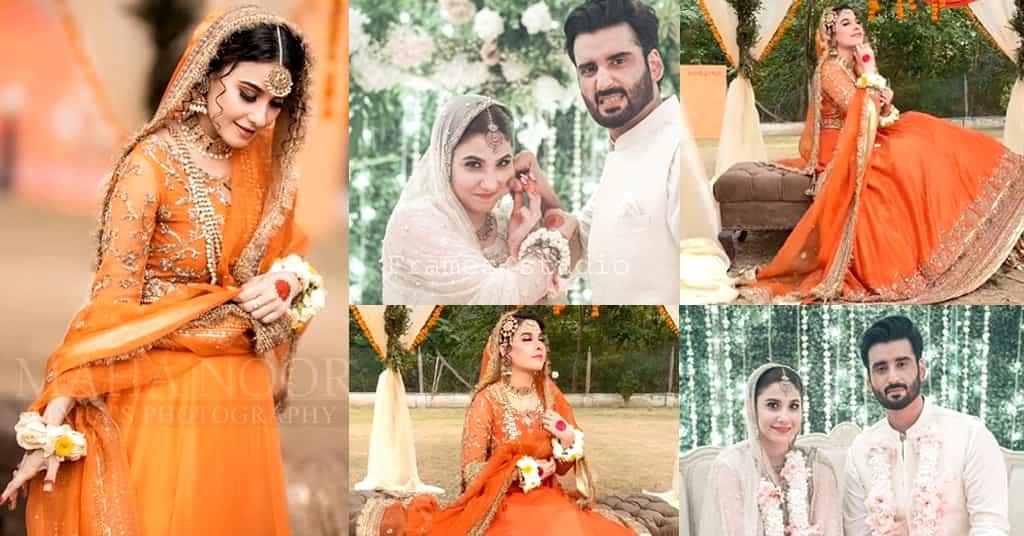 Hina Altaf Bridal Look