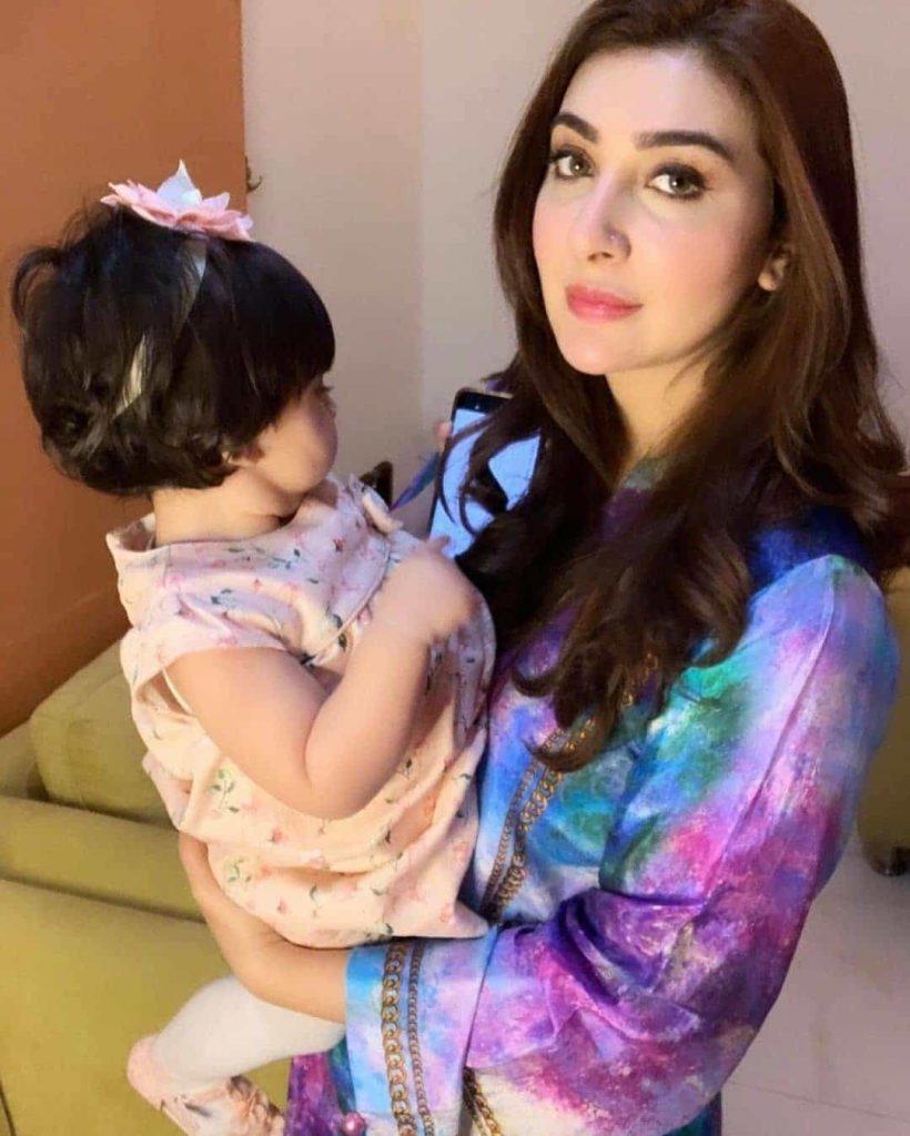 Pictures From Ayesha Khan's Daughter, Mahnoor Malik's 1st Birthday - Showbiz Pakistan