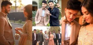 Shahveer Jafry Engagement
