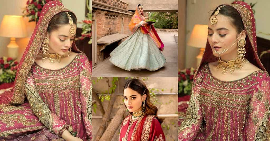 Minal Khan Bridal Photoshoot