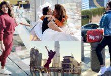 Beautiful Clicks of Sana Fakhar Celebrates Her Innocent Husband Birthday