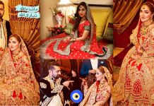 Natasha Ali Wedding Pictures