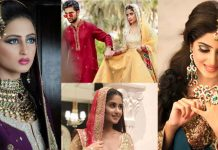 Sajal Ali Bridal Photoshoot