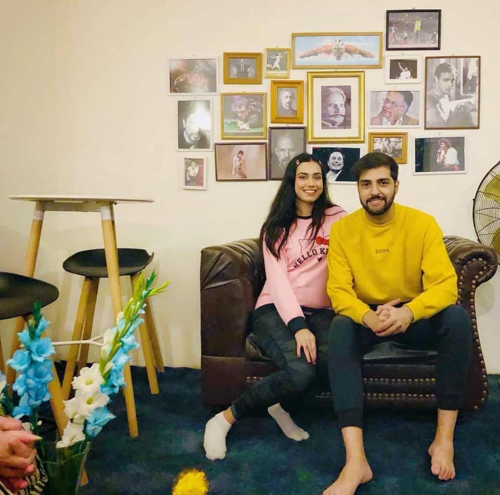 Furqan qureshi with wife