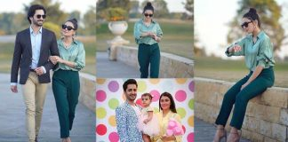 Ayeza Khan New Lovely Pictures With Danish Taimoor