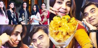 Beautiful Clicks of Nadia Khan Celebrates Her Innocent Husband Birthday