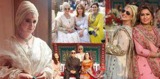 Beautiful Clicks of Noor Bukhari Attends Her Friend's Wedding