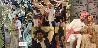 Beautiful Clicks of Sanam Jung Attending Her Sister's Wedding With Her Husband