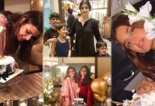 Beautiful Pictures of Hira Mani Celebrates Her 33rd Birthday With Friends
