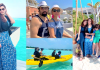 Beautiful Pictures of Nida Yasir Enjoying The Holidays With Her Husband and Kids