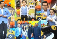 Beautiful Pictures of Shafaat Ali Son Wajdaan Birthday Party