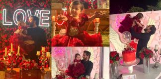 Beautiful Pictures of Shahid Afridi Daughter Arwa 1st Birthday Party