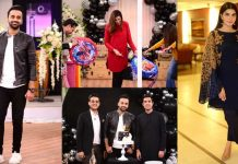 Birthday Pictures of Waseem Badami In Nida Yasir Morning Show