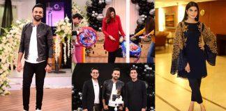 Birthday Pictures of Waseem Badami In Nida Yasir Morning Show