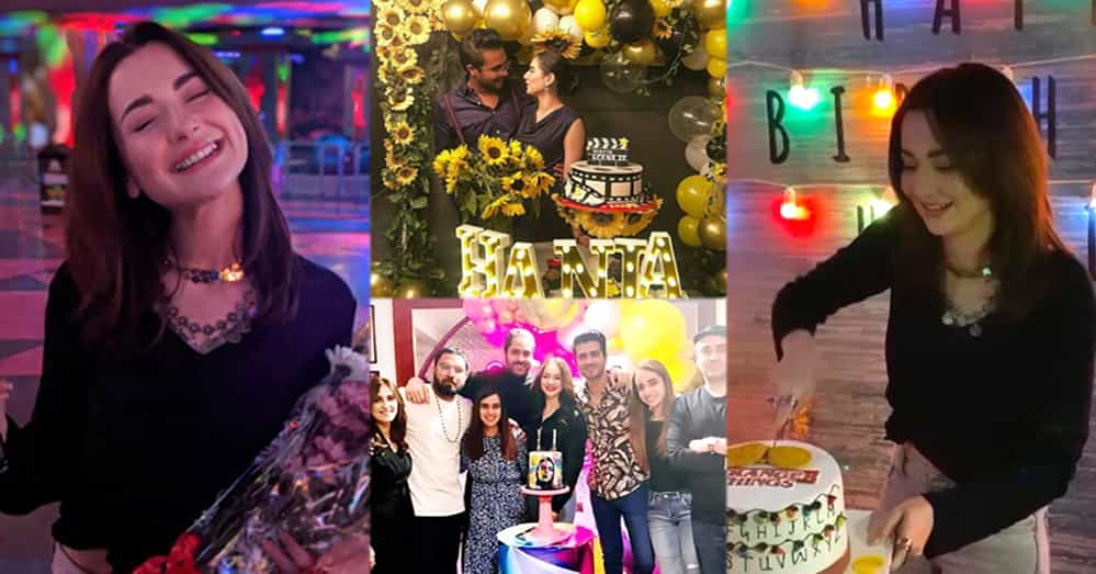 Hania Amir Celebrating Her 24th Birthday With Friends And Legends