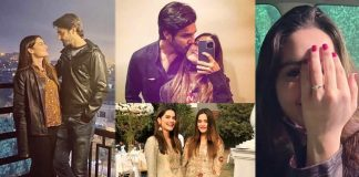 Minal Khan & Ahsan Mohsin Ikram Got Engaged (Pictures)