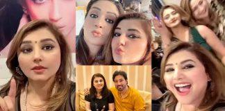 Nand Actress Javeria Saud Makes Funny Meme On 'Ye Hamari Car Hai'