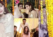 Recent Clicks of Actress Urwa Hocane From Her Friend's Wedding