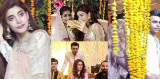 Recent Clicks of Actress Urwa Hocane From Her Friend's Wedding