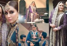 Saba Faisal Looking So Royal In Her Latest Bridal Photoshoot