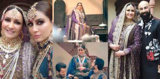 Saba Faisal Looking So Royal In Her Latest Bridal Photoshoot