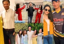 Saleem Sheikh New Adorable Clicks With His Family