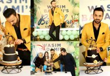 Waseem Badami's 36th Birthday Celebration With His Beautiful Wife And Friends