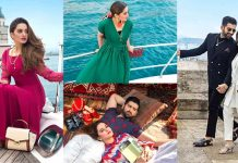 Aiman Khan Latest Beautiful Pictures With New Collection of Borjan Shoes