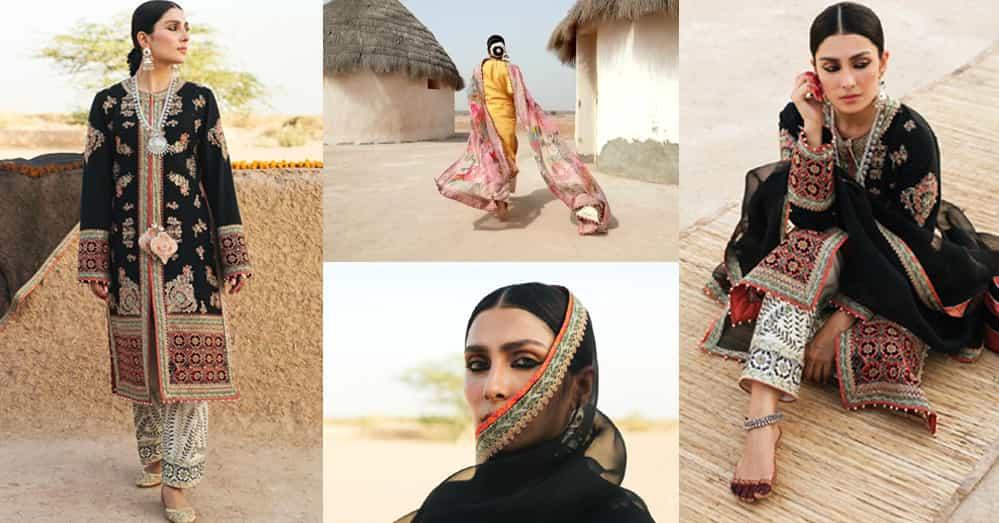 Ayeza Khan Latest Photoshoot for Clothing Brand