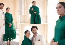 Ayeza Khan New Clicks For Lake View City With Her Husband Danish Taimoor