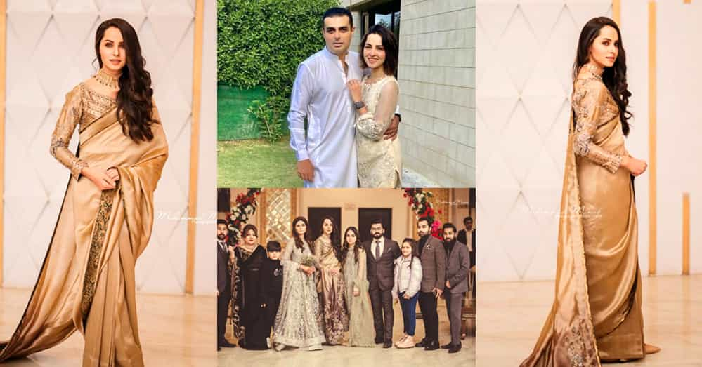 Beautiful Clicks of Nimra Khan At Her Cousin's Wedding With Family