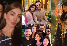Beautiful Pics of Newly Wed Couple Nadia Khan And Faisal Mumtaz