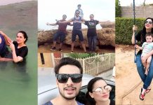 Beautiful Pictures of Fatima Effendi Enjoying The Holidays With Her Husband