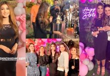 Beautiful Pictures of Kinza Hashmi Celebrates Her 24th Birthday With Friends