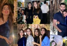 Beautiful Pictures of Saboor Ali Celebrates Her 26th Birthday With Friends