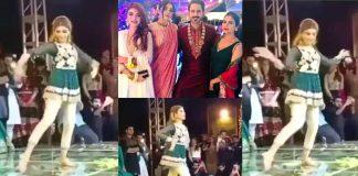 Dance Video of Beautiful Kinza Hashmi At Her Friend's Wedding