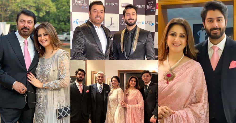 Noman Ijaz And Rabia Noman New Latest Clicks With Family