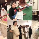 Quran Khawani And Mehfil-e-Milad (PBUH) At The House of Javeria Saud