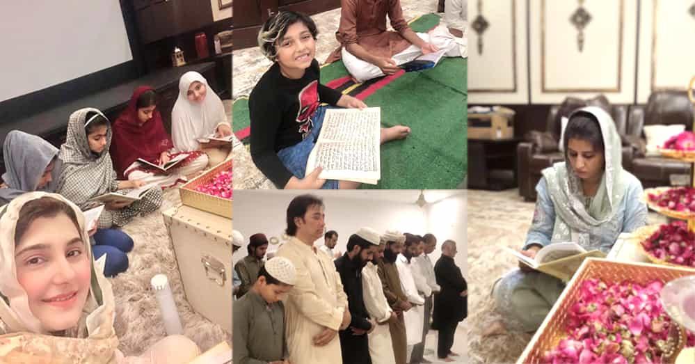Quran Khawani And Mehfil-e-Milad (PBUH) At The House of Javeria Saud
