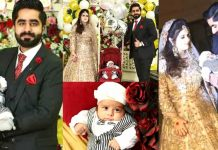 Rayan Sheikh and His Wife Anmol Brought Their Son on Their Walima