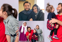 Shahid Afridi Beautiful Photoshoot With Her Daughter Arwa Afridi