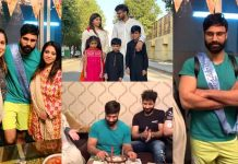 Youtuber Rahim Pardesi Celebrates Birthday With His Two Wives